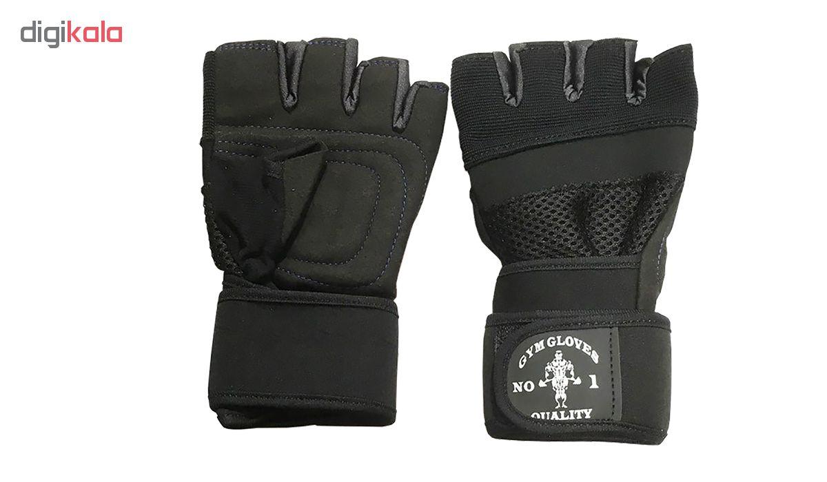دستکش بدنسازی مدل T600_S2