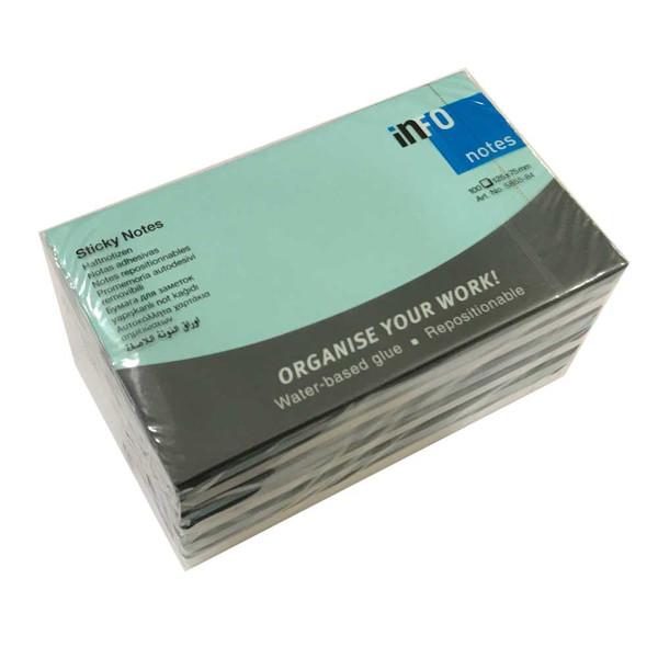 کاغذ یادداشت چسب دار اینفو مدل 84-5855 بسته 6 عددی