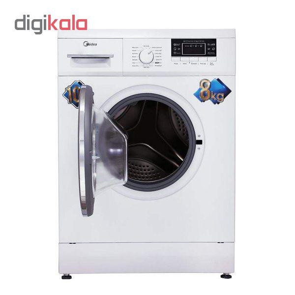 ماشین لباسشویی مایدیا مدل WU-24804 ظرفیت 8 کیلوگرم