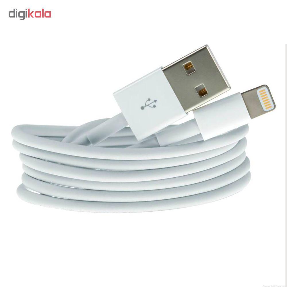 کابل تبدیل USB به لایتنینگ  مدل F0V501777L طول 1 متر  main 1 4