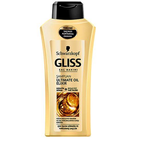 شامپو مو گلیس مدل Ultimate Oil Elixir حجم 550 میلی لیتر