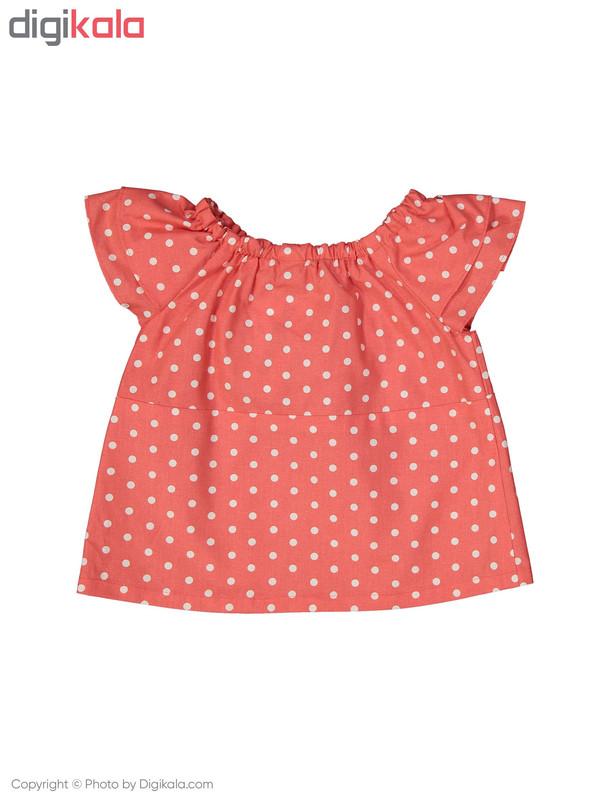 پیراهن نوزادی دخترانه دایان مدل 1321141-72