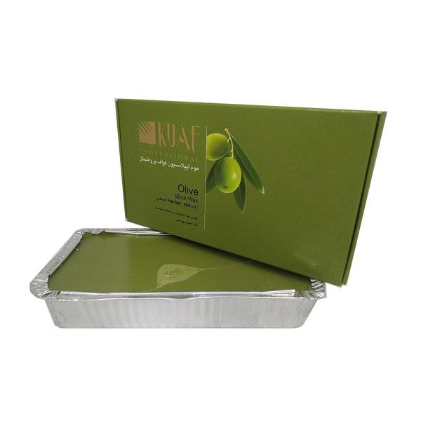 خرید                      موم موبر کواف مدل olive وزن 500 گرم              ✅