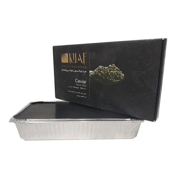 خرید                      موم موبر کواف مدل caviar وزن 500 گرم              ✅
