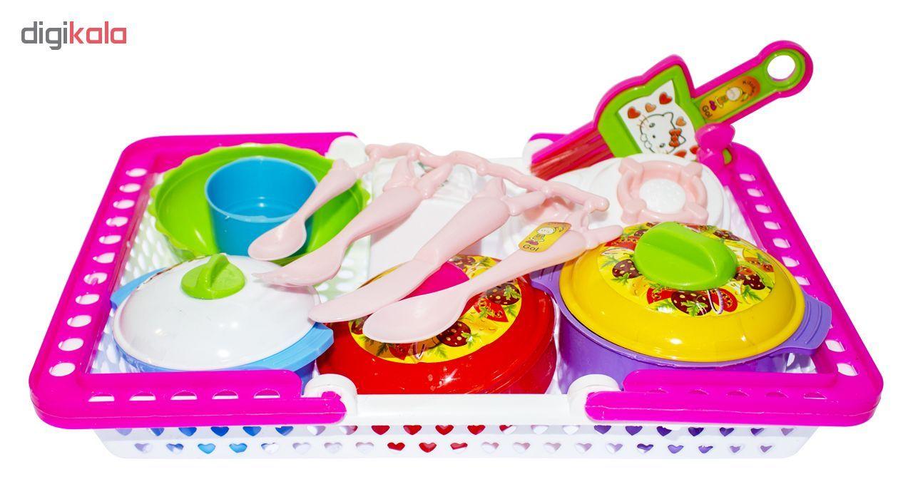 ست آشپزخانه اسباب بازی مدل Middle main 1 1