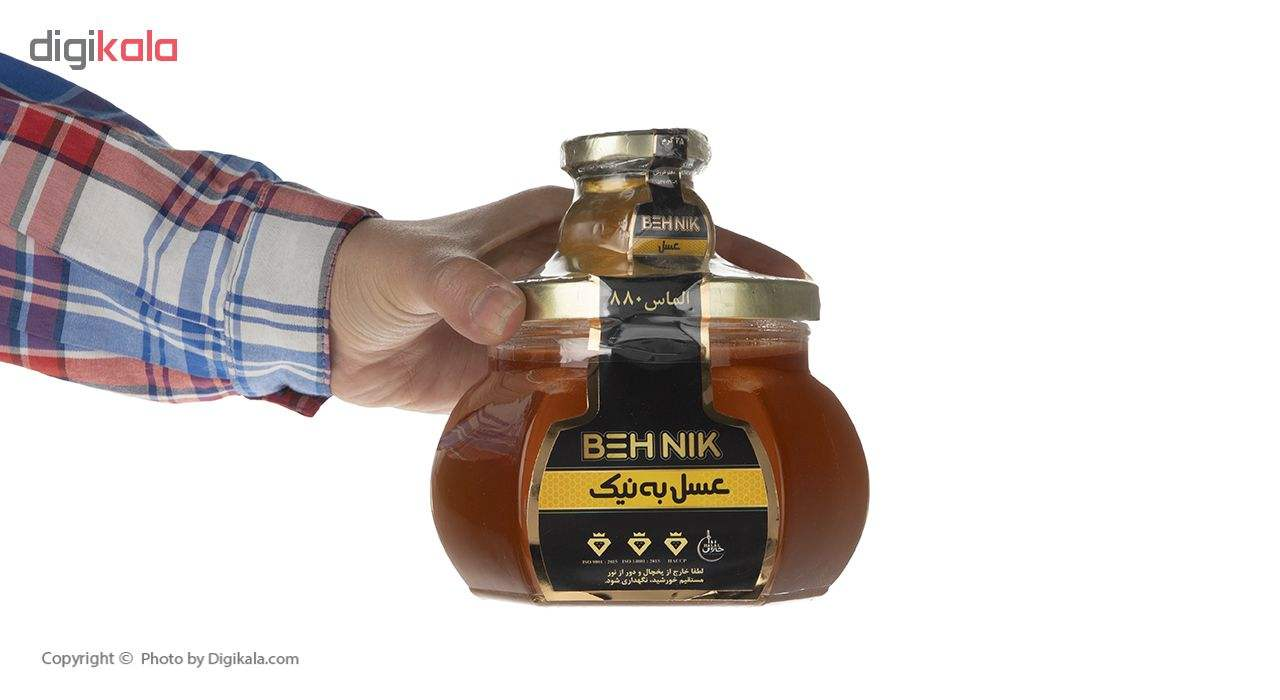 عسل الماس به نیک - 880 گرم main 1 3
