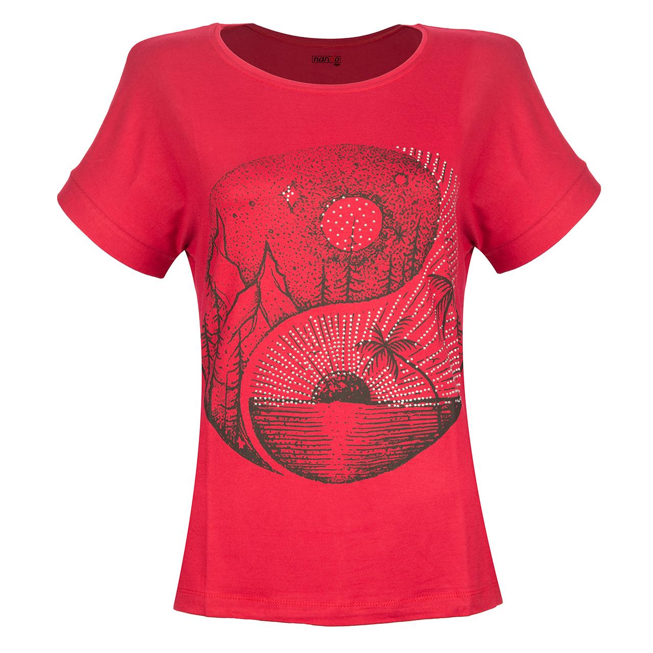 تی شرت زنانه ناندو استایل مدل NS25