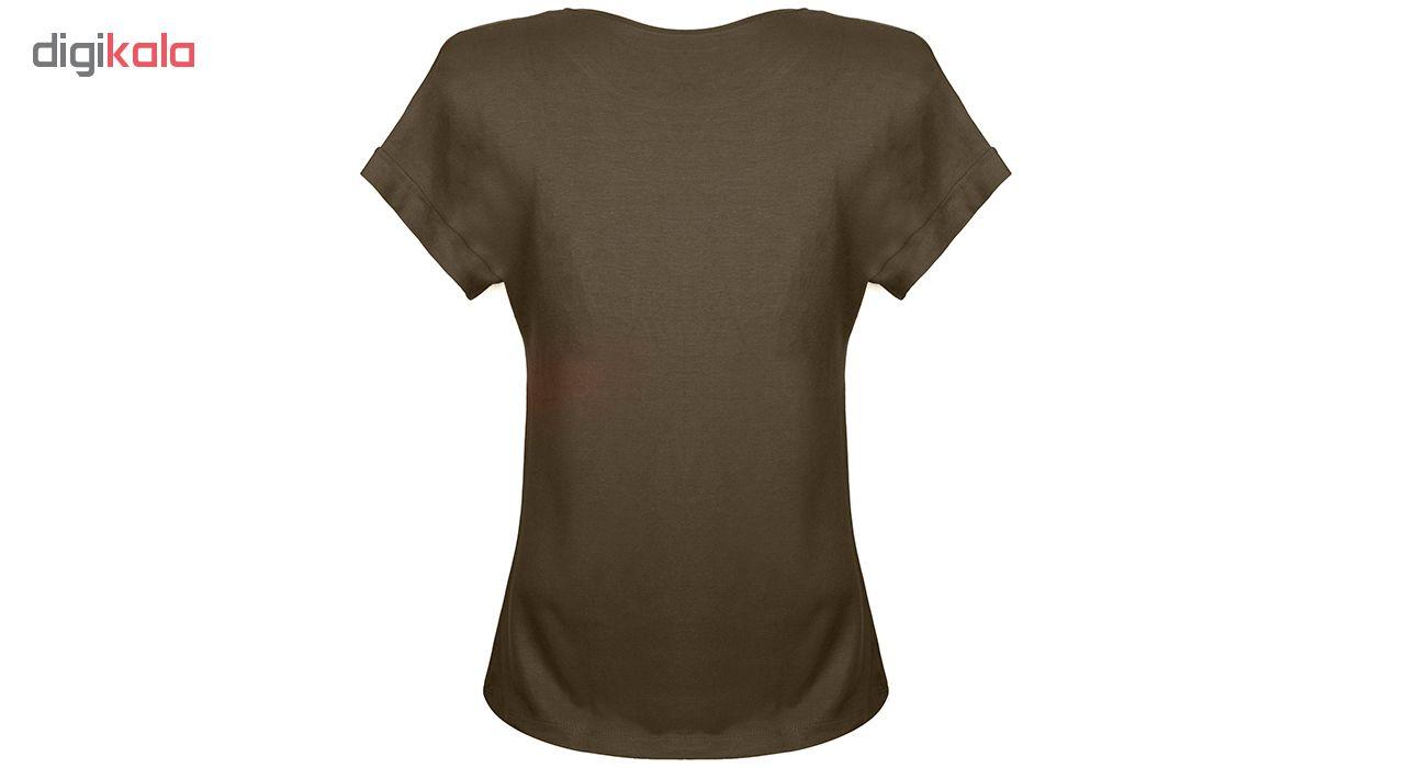 تی شرت زنانه ناندو استایل مدل NS26
