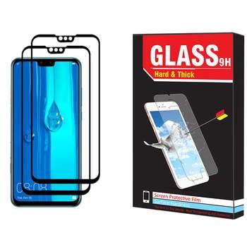 محافظ صفحه نمایش hard and thick مدل F-001 مناسب برای گوشی موبایل هوآوی Y9 2019 بسته دو عددی