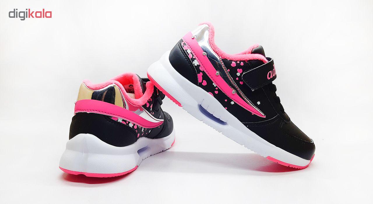 کفش مخصوص پیاده روی دخترانه کد 3220