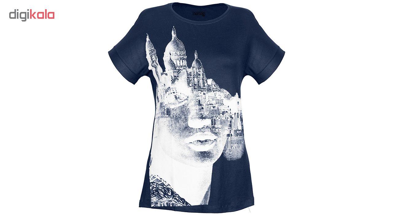 تی شرت زنانه ناندو استایل مدل رخ کد NS30