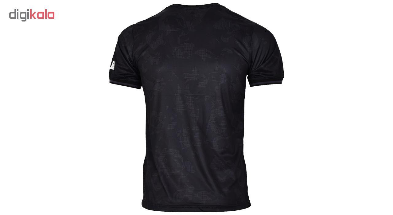 تی شرت ورزشی مردانه طرح منچستریونایتد مدل 3rd1920 رنگ مشکی
