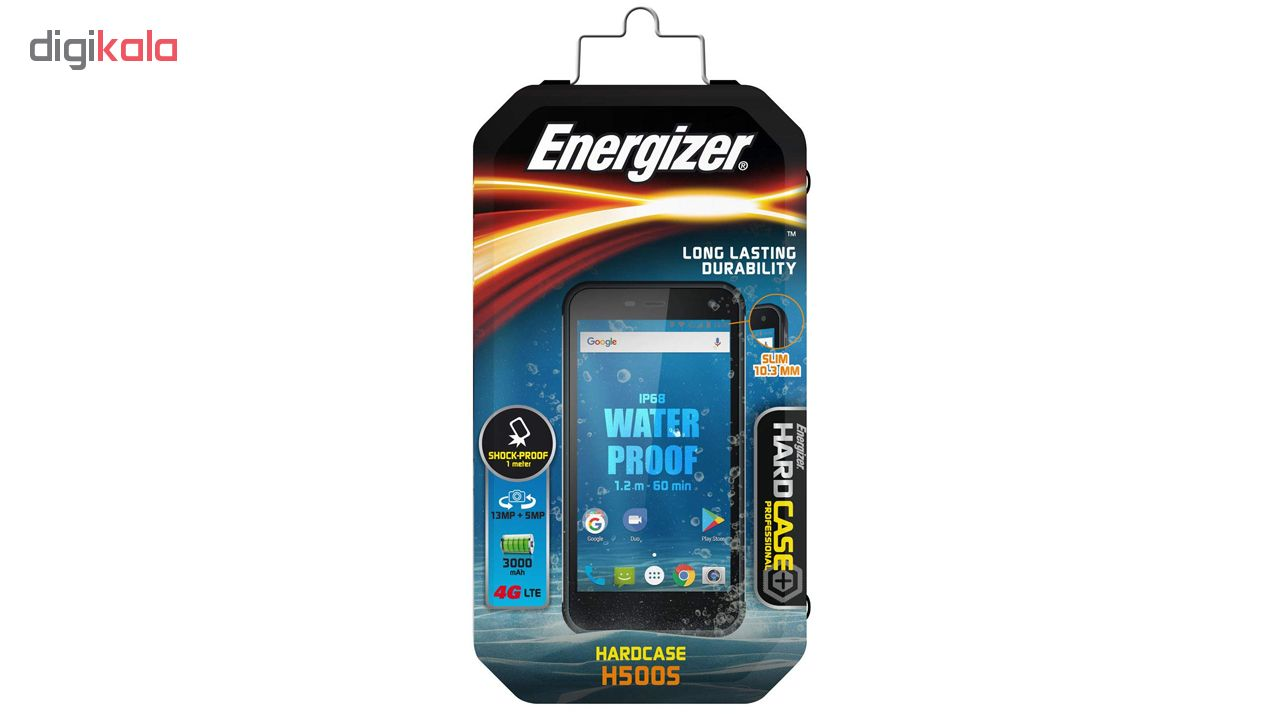 گوشی موبایل انرجایزر مدل Hardcase H500S دو سیم کارت ظرفیت 16 گیگابایت