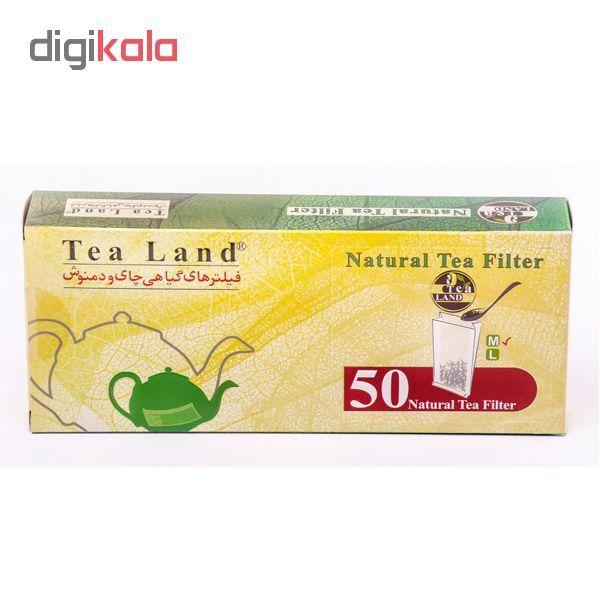 فیلتر گیاهی چای و دمنوش تیلند کدA1 بسته 50 عددی main 1 2