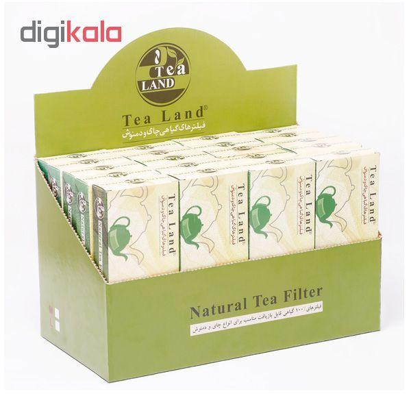 فیلتر گیاهی چای و دمنوش تیلند کدA1 بسته 50 عددی main 1 3
