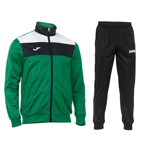 ست گرمکن و شلوار ورزشی مردانه جوما مدل CREW رنگ سبز