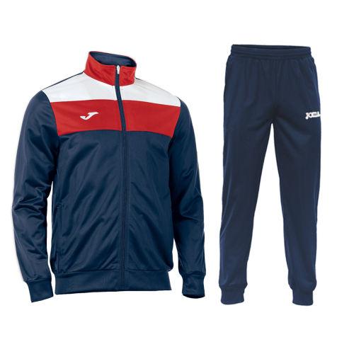 ست گرمکن و شلوار ورزشی مردانه جوما مدل CREW رنگ سورمه ای