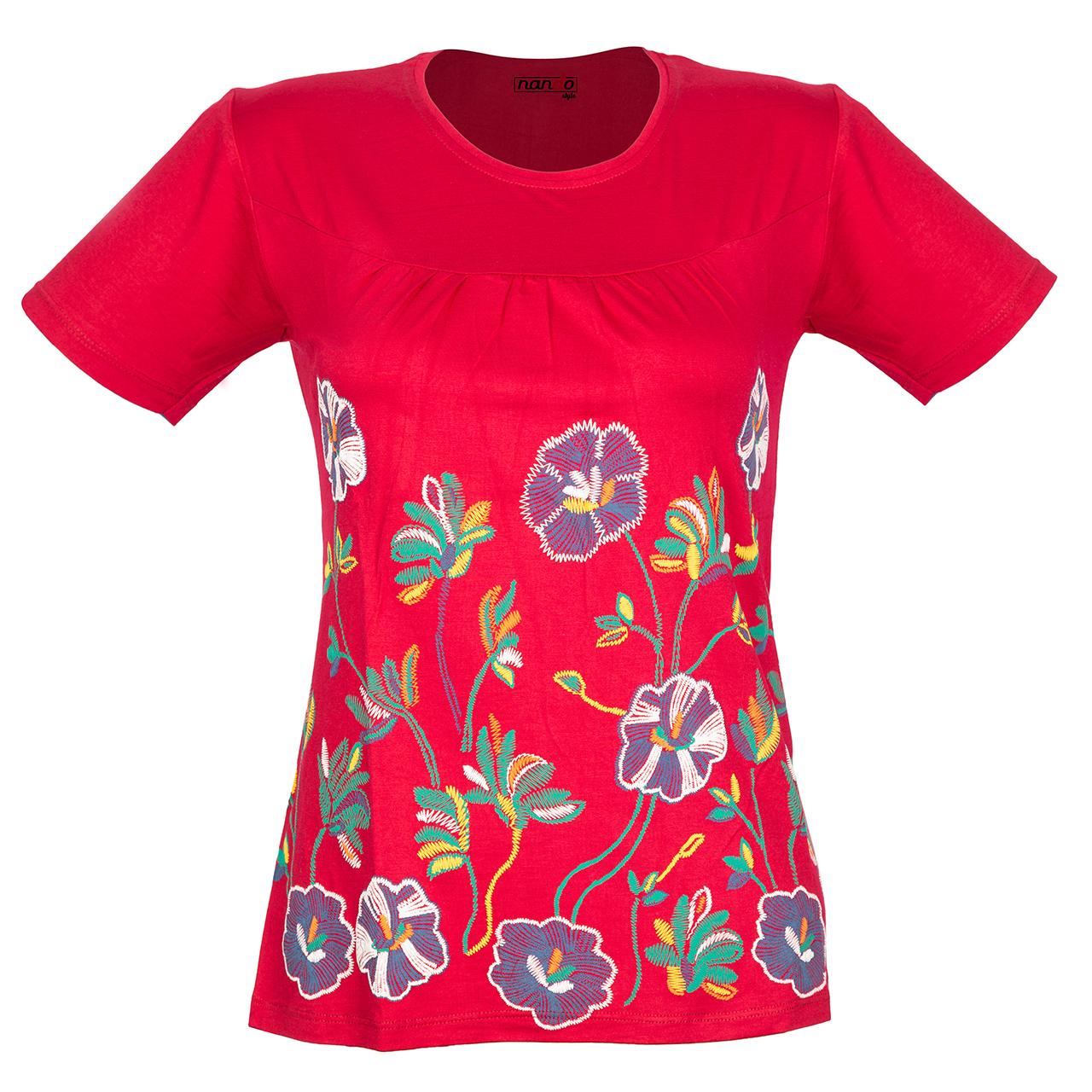 تی شرت زنانه ناندو استایل مدل NS36