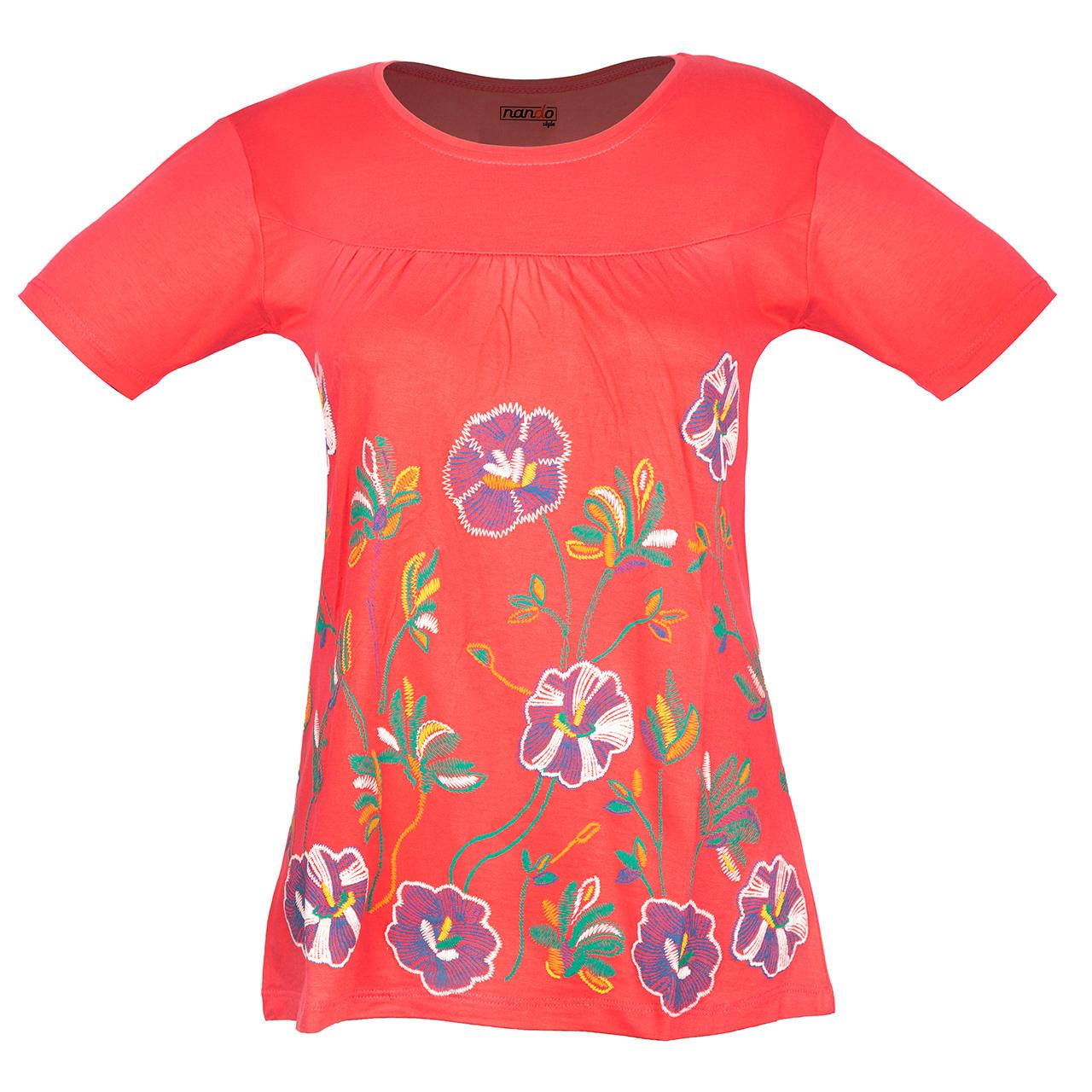 تی شرت زنانه ناندو استایل مدل NS38
