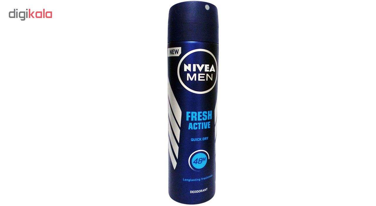 اسپری مردانه نیوآ مدل Fresh Active حجم 150 میلی لیتر -  - 2