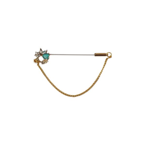 سوزن روسری دینا طرح زنجیر کد B048