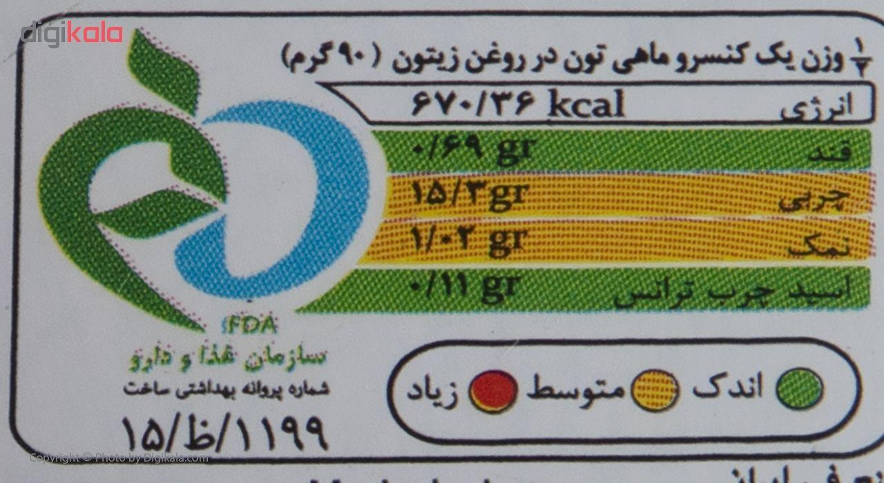 کنسرو ماهی تون در روغن زیتون سالی مقدار 180 گرم main 1 4