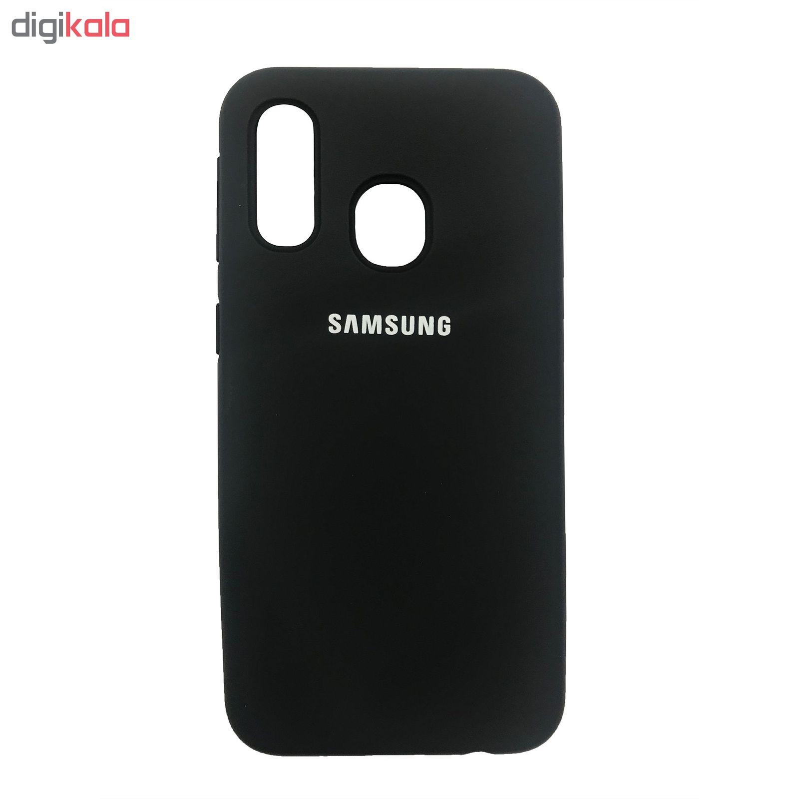 کاور مدل SIL-03 مناسب برای گوشی موبایل سامسونگ Galaxy A40 main 1 1