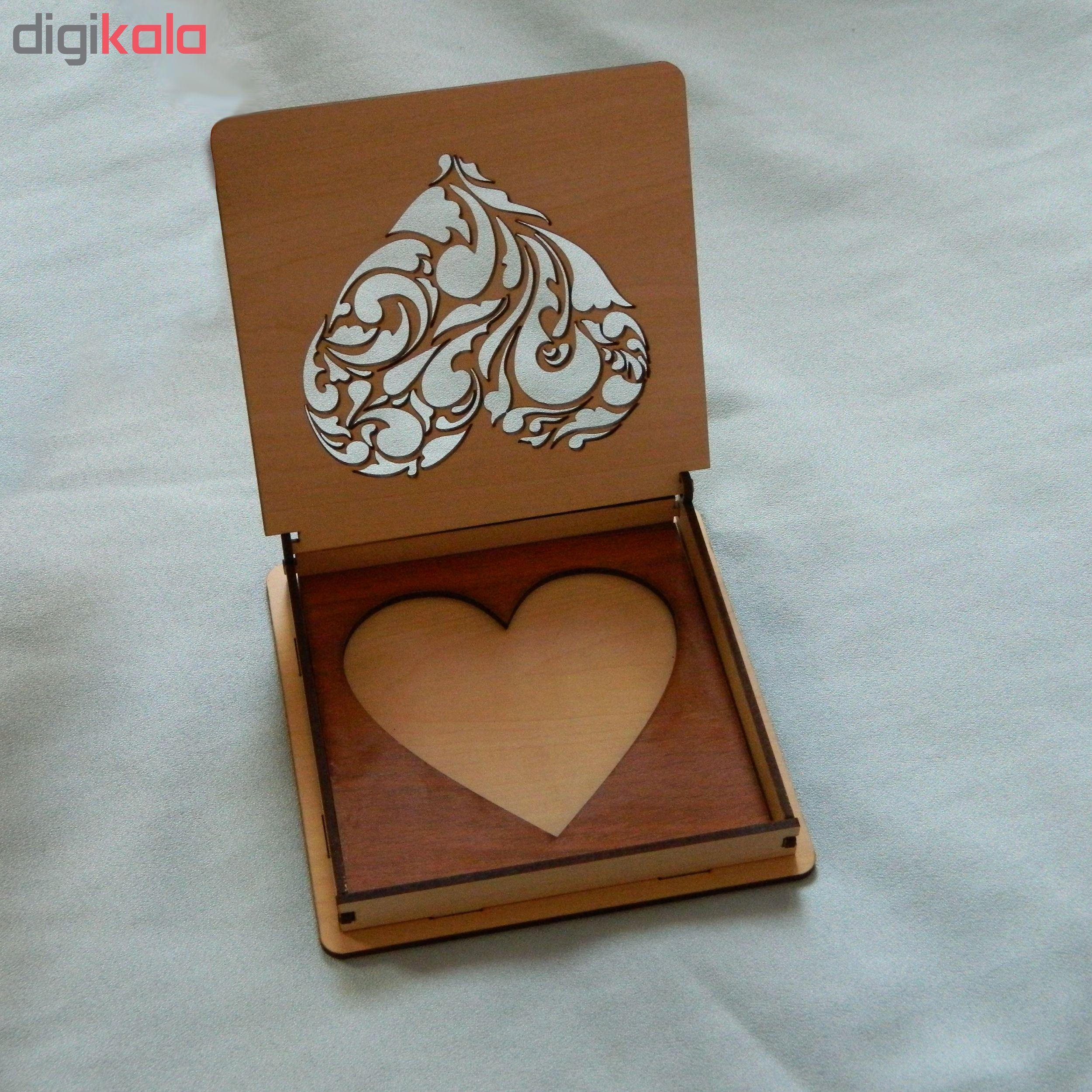 خرید                      جعبه هدیه طرح قلب کد 1111