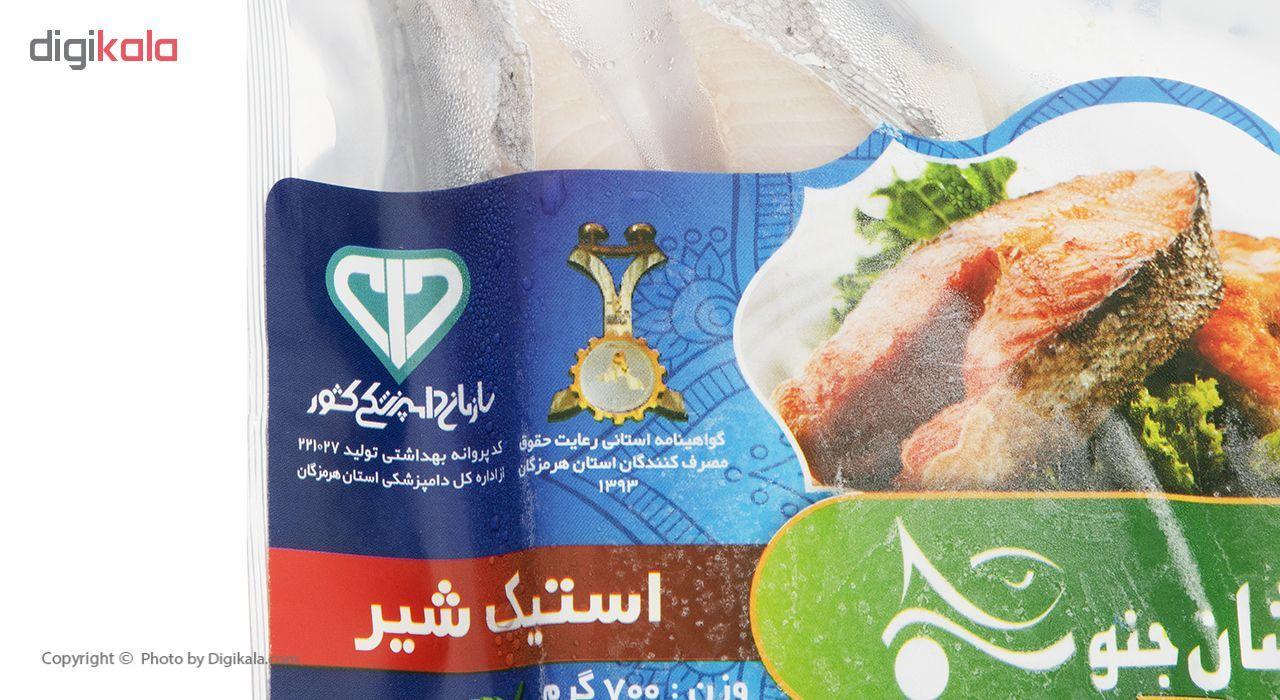 استیک ماهی شیر زرافشان مقدار 700 گرم main 1 2