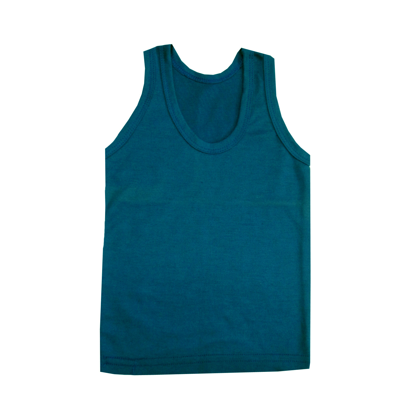 زیرپوش پسرانه حجت مدل Hoj-R کد 20289 رنگ سبز آبی