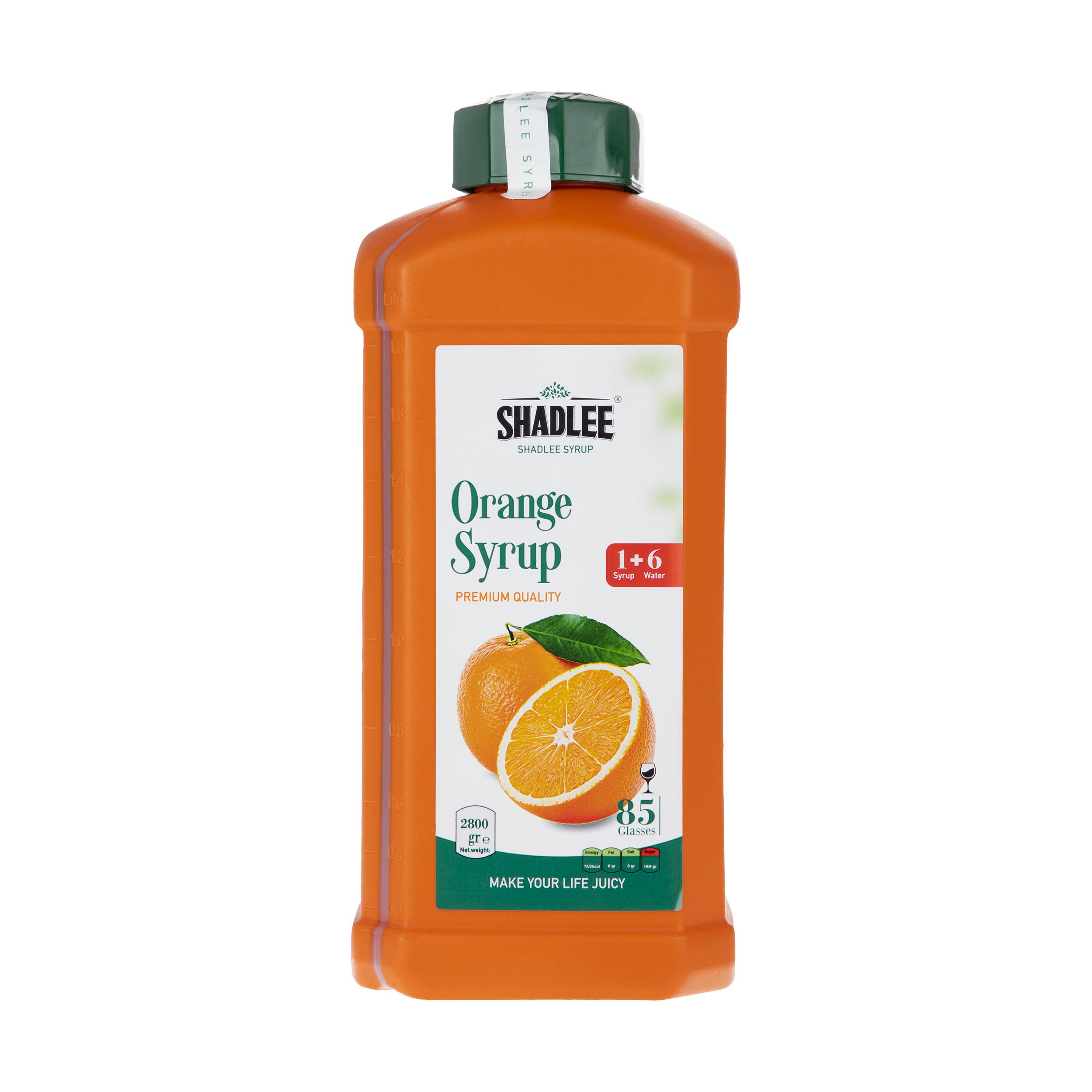 شربت پرتقال شادلی مقدار 2800 گرم