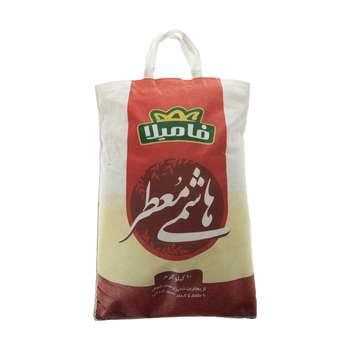 برنج هاشمی معطر فامیلا وزن 10 کیلوگرم
