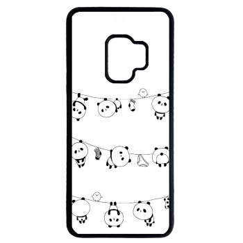کاور طرح پاندا کد 1105408784 مناسب برای گوشی موبایل سامسونگ galaxy s9 plus