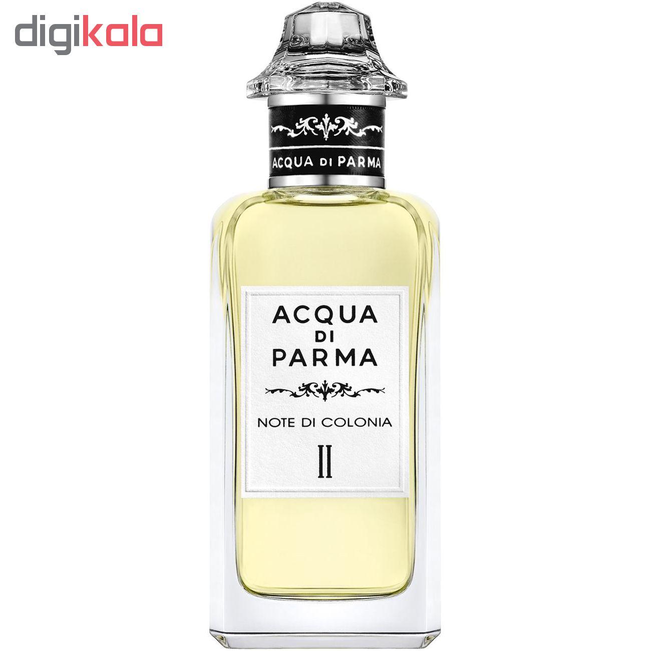 ادو کلن آکوا دی پارما مدل NOTE DI COLONIA II حجم 150 میلی لیتر