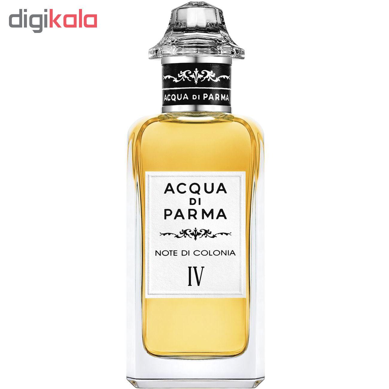 ادو کلن آکوا دی پارما مدل NOTE DI COLONIA IV حجم 150 میلی لیتر
