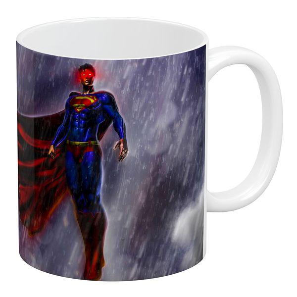 ماگ آبنبات رنگی طرح سوپرمن کدAR0986