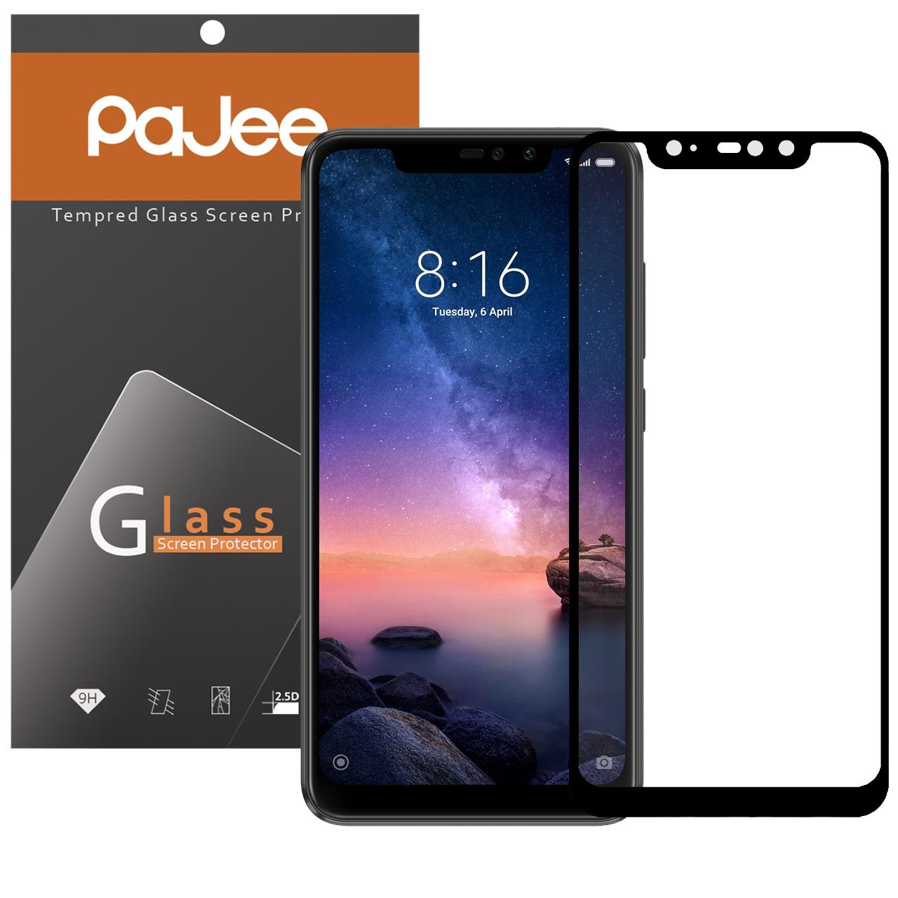 محافظ صفحه نمایش  پاجی مدل P-N6P مناسب برای گوشی موبایل شیائومی NOTE 6 PRO