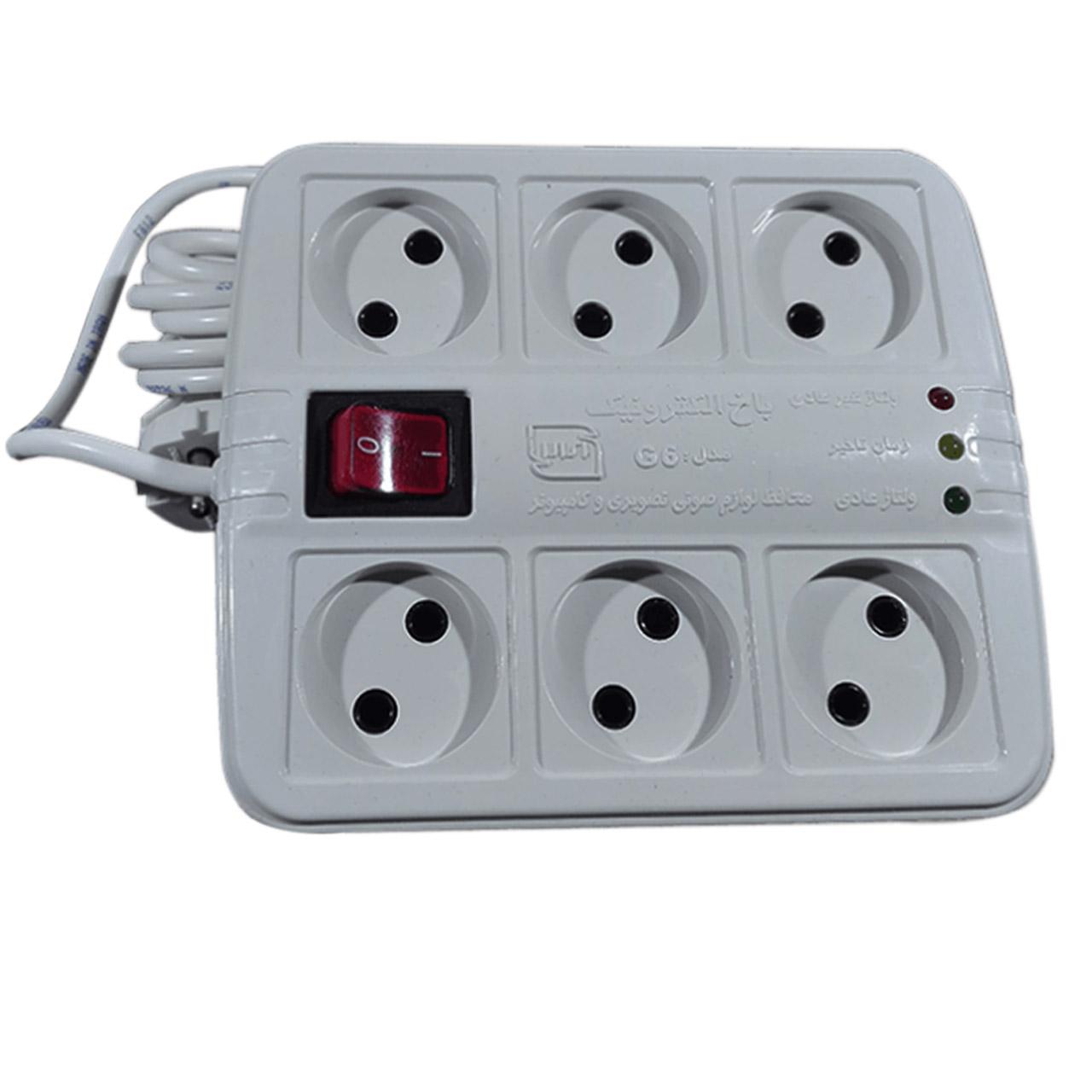 خرید اینترنتی محافظ ولتاژ باخ الکترونیک مدل G6 اورجینال