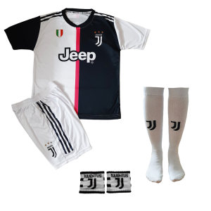 ست لباس ورزشی پسرانه طرح یوونتوس کد J R 7