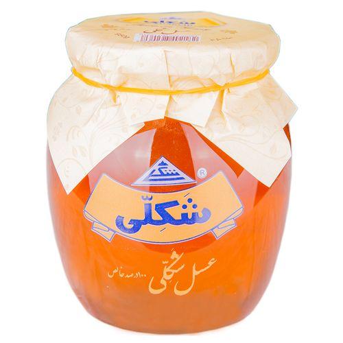 عسل طبیعی شکلی مقدار 950 گرم