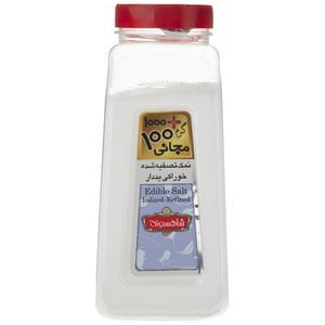 نمک تصفیه شده خوراکی ید دار شاهسوند مقدار 1000 گرم