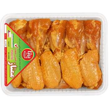 بال و بازو کبابی مرغ پویا پروتئین وزن 900 گرم