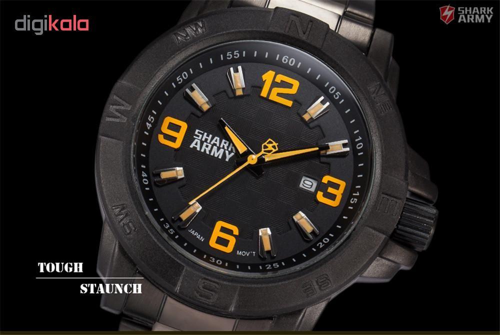 ساعت مچی عقربه ای مردانه شارک آرمی مدل Saw149