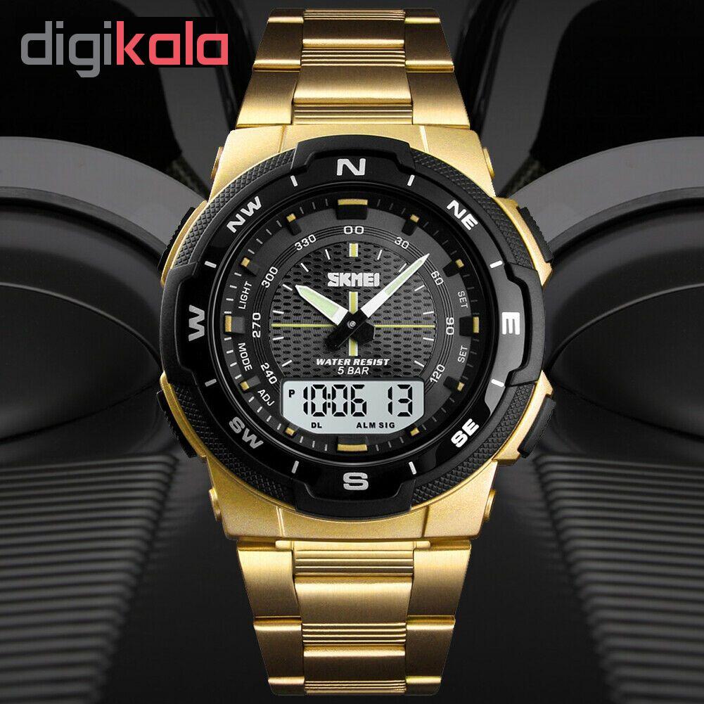 ساعت مچی عقربه ای مردانه اسکمی مدل 1370T