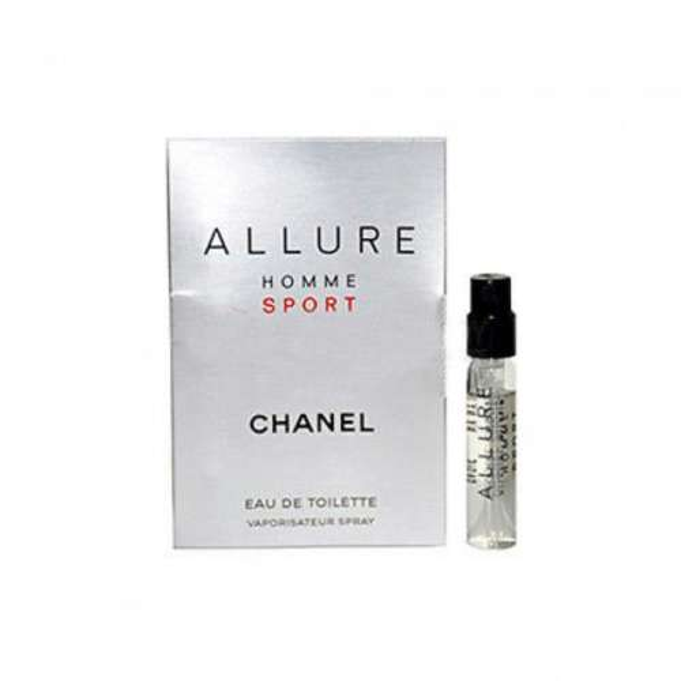 عطر جیبی مردانه شانل مدل allure homme sport حجم 1.5 میلی لیتر