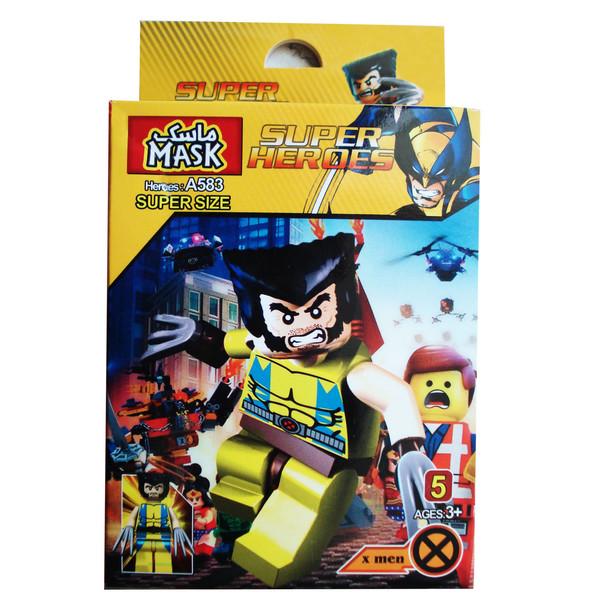 ساختنی ماسک سری super heroes مدل x man