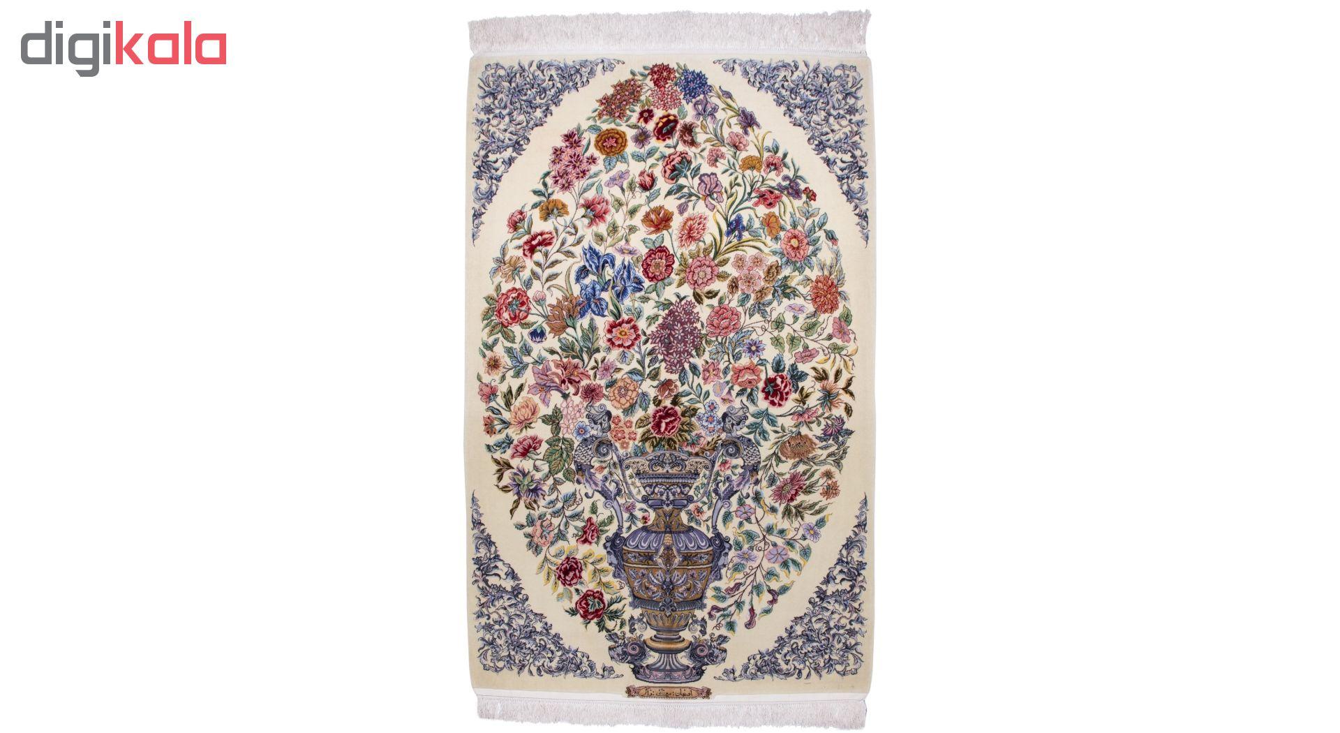 فرش دستباف ذرع و نیم سی پرشیا کد 173009