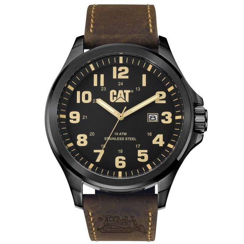 ساعت مچی عقربه ای مردانه کاترپیلار مدل PU.161.35.114
