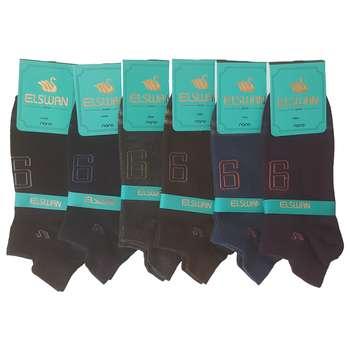 جوراب مردانه ال سون کد PH138 مجموعه 6 عددی