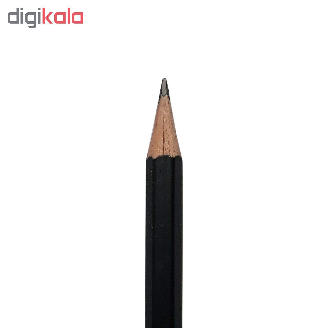 مداد مشکی پنتر مدل MULTI USE کد BP-104-3 بسته 12 عددی main 1 5